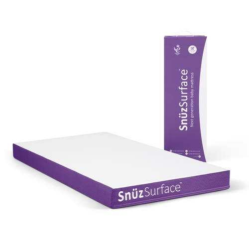 Snuz SnuzSurface TripleCore Pocket Spring Cot Bed Mattress (70 x140)