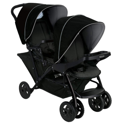 Graco Stadium Duo Tandem Stroller - Black/Grey