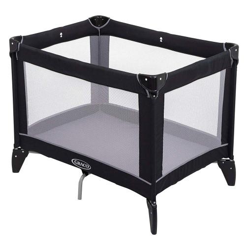 Graco Compact Travel Cot - Black/Grey