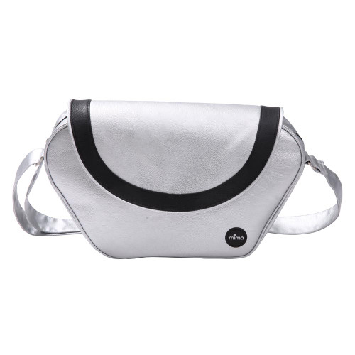 Mima Xari Trendy Change Bag - Argento