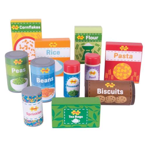 Bigjigs Cupboard Groceries