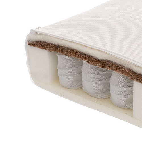 Obaby Moisture Management Dual Core Cot Mattress - 120 x 70cm