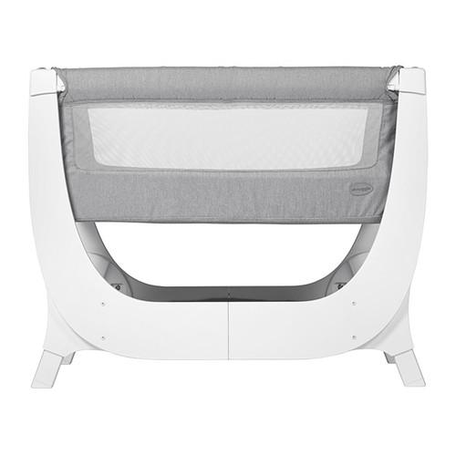 Shnuggle Air Bedside Crib - Dove Grey