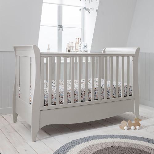 Tutti Bambini Roma Sleigh Cot Bed - Linen