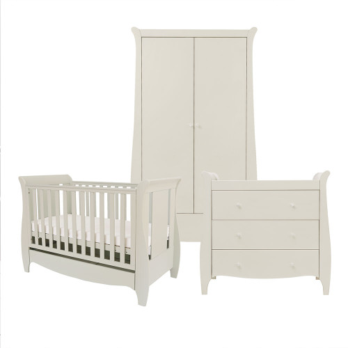 Tutti Bambini Roma Space Saver 3 Piece Room Set - Linen