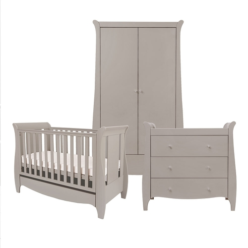 Tutti Bambini Roma Space Saver 3 Piece Room Set - Truffle Grey