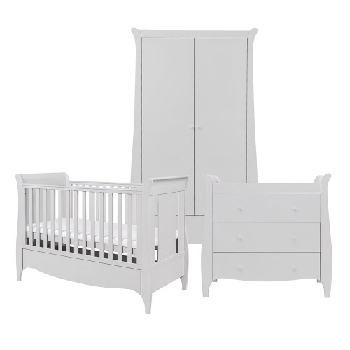 Tutti Bambini Roma 3 Piece Room Set - Dove Grey