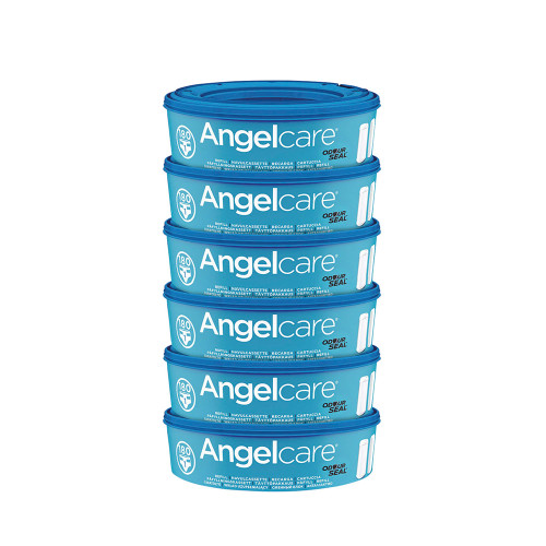 Angelcare Nappy Refill Cassettes 6-Pack