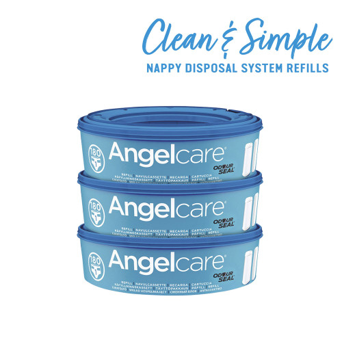 Angelcare Nappy Refill Cassettes 3-Pack