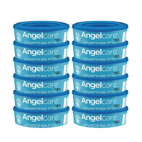 Angelcare Nappy Refill Cassettes 12-Pack