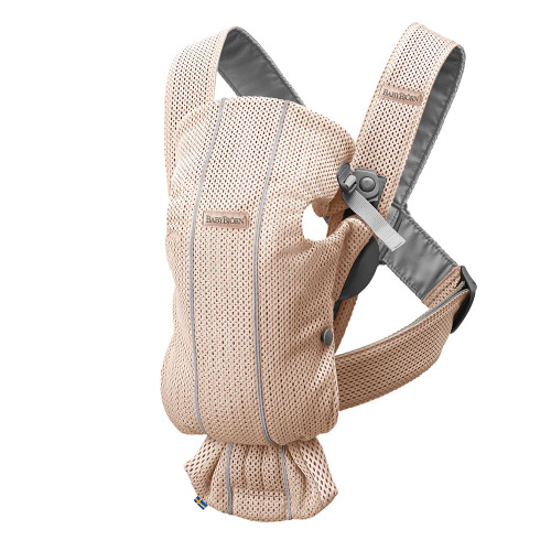 Babybjorn Baby Carrier Mini 3D Mesh - Pearly Pink