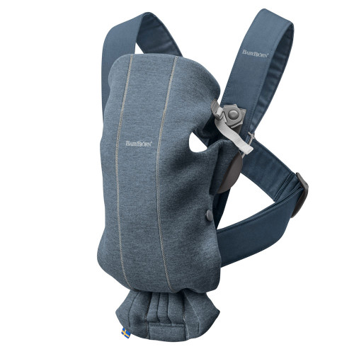 Babybjorn Baby Carrier Mini 3D Jersey - Dove Blue