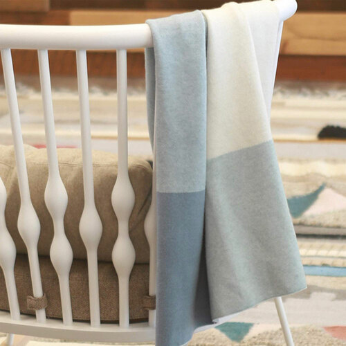 Uppababy Knitted Blanket - Blue