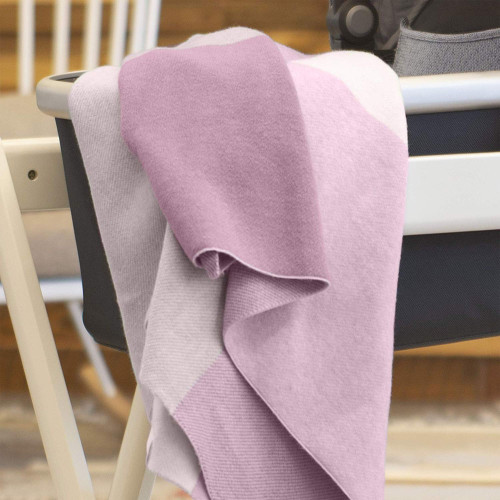 Uppababy Knitted Blanket - Pink