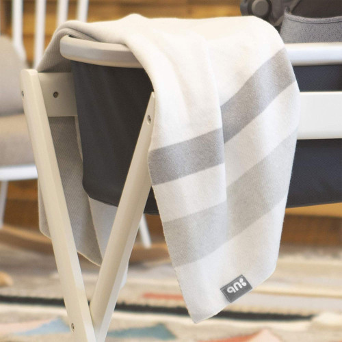 Uppababy Knitted Blanket - Grey Plaid