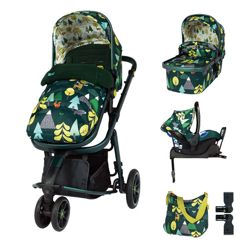 Cosatto Giggle 3 ISOFIX Travel System & Accessories Bundle - Into The Wild