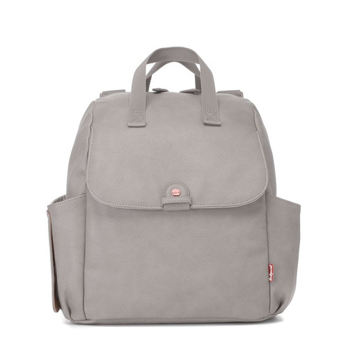 Babymel Robyn Convertible Backpack - Pale Grey