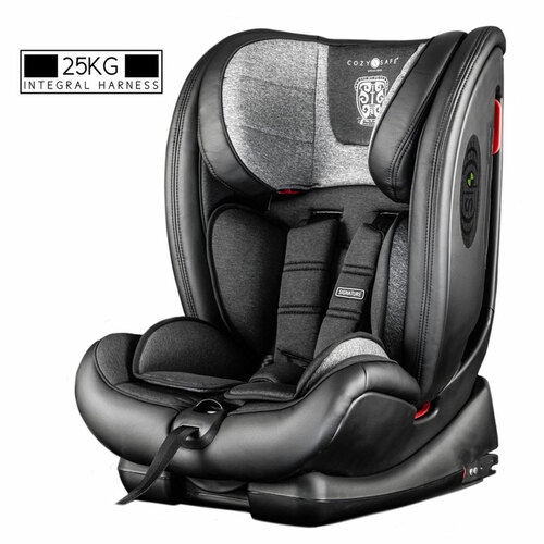 Cozy N Safe Excalibur 1/2/3 Car Seat with 25kg Harness - Graphite