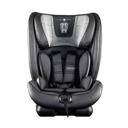 Cozy N Safe Excalibur 1/2/3 Car Seat - Graphite - front
