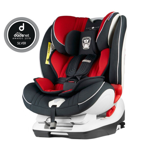Cozy N Safe Arthur 0+/1/2/3 Car Seat - Red