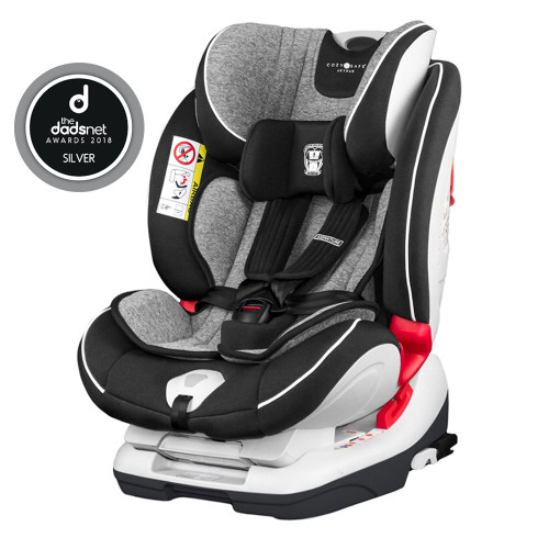 Cozy N Safe Arthur 0+/1/2/3 Car Seat - Graphite