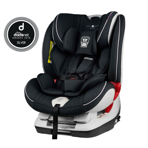 Cozy N Safe Arthur 0+/1/2/3 Car Seat - Onyx
