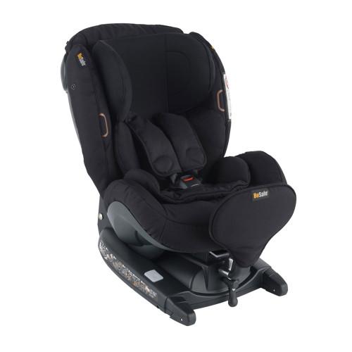 Besafe iZi Kid X3 i-Size Car Seat - Fresh Black Cab (left angle)