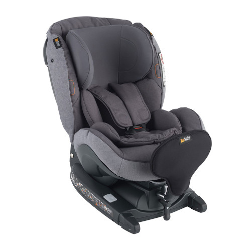 Besafe iZi Kid X3 i-Size Car Seat - Metallic Melange (left angle)