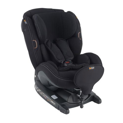 Besafe iZi Kid X3 i-Size Car Seat - Car Interior Black (left angle)