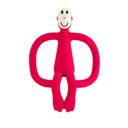 Matchstick Monkey Teething Toy - Red
