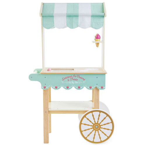 Le Toy Van Ice Cream Trolley - right side