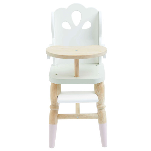 Le Toy Van Doll High Chair - front