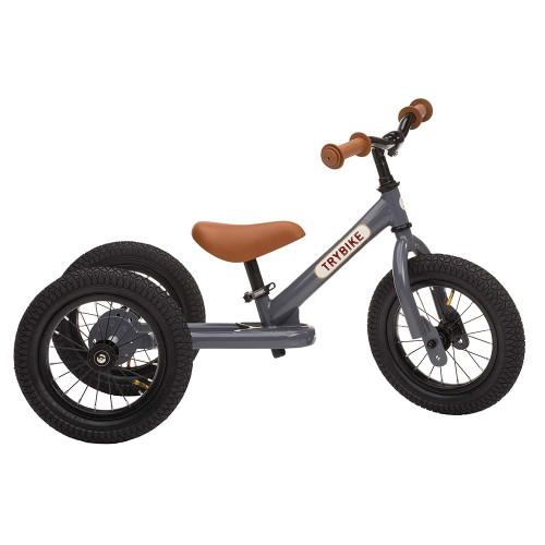 Trybike Steel 2-in-1 Balance Trike - Grey