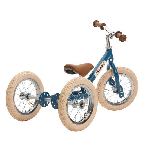 Trybike Steel 2-in-1 Balance Trike - Vintage Blue