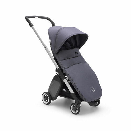 Bugaboo Ant Footmuff - Steel Blue (stroller is not included)