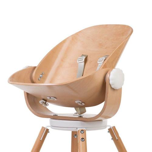 Childhome Evolu Newborn Seat - Natural/White