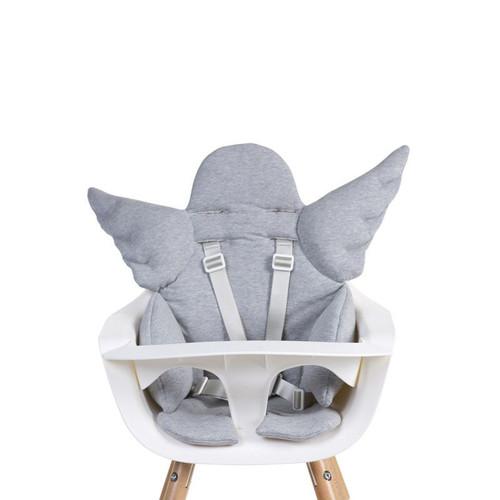 Childhome Angel Universal Seat Cushion - Jersey Grey