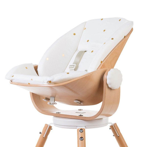 Childhome Evolu Newborn Seat Cushion - Jersey Gold Dots