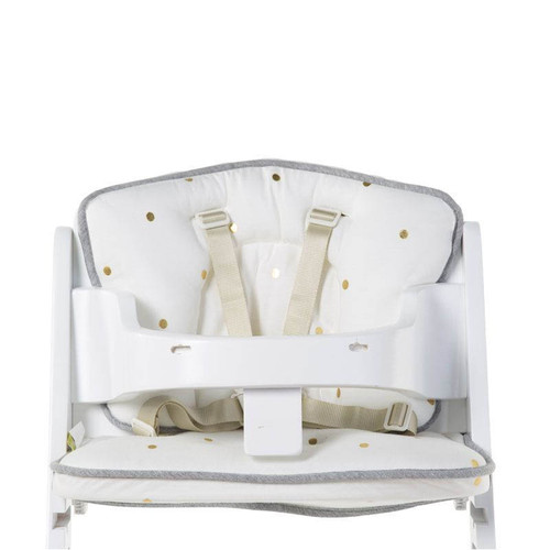 Childhome Baby Grow Chair Cushion - Jersey Gold Dots