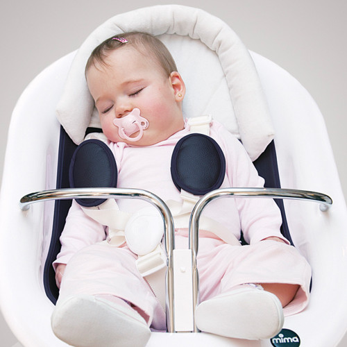 Mima Moon Baby Headrest - Beige