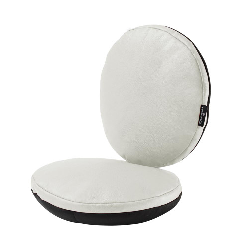 Mima Moon Junior Chair Cushions - Snow White