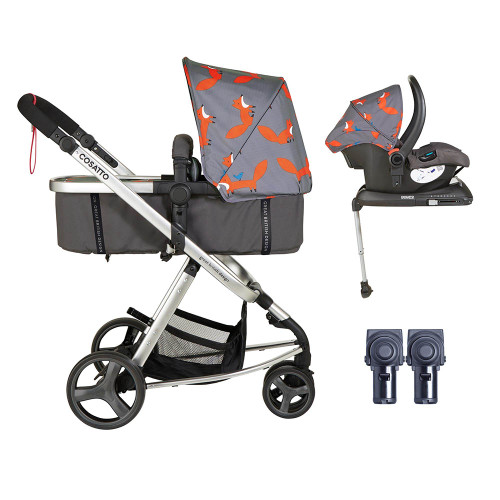 Cosatto Giggle Mix ISOFIX Pramette Bundle - Mister Fox