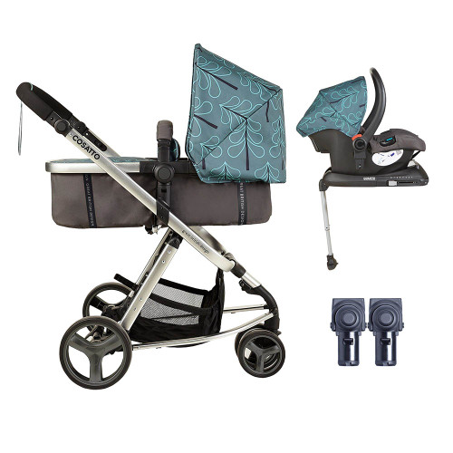 Cosatto Giggle Mix ISOFIX Pramette Bundle - Fjord