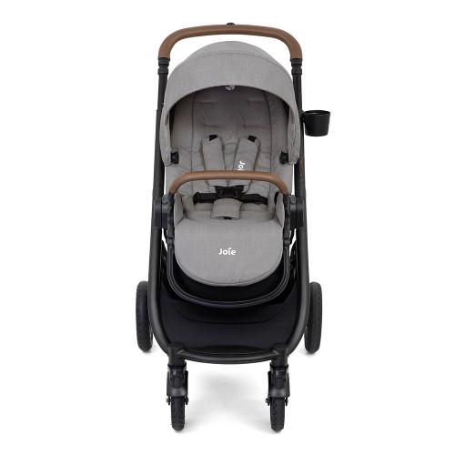 Joie Versatrax Stroller - Grey Flannel - front