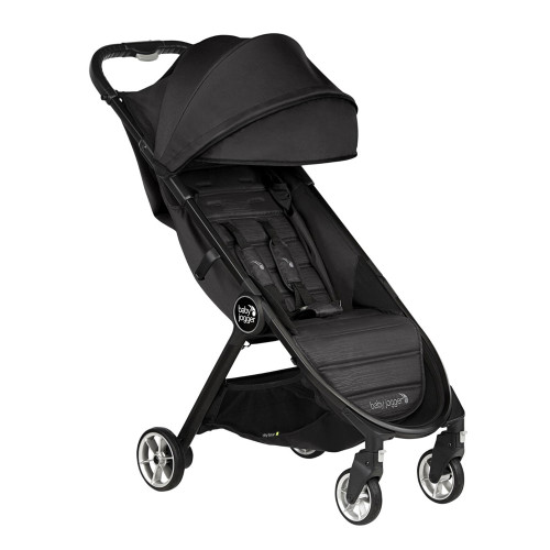 Baby Jogger City Tour 2 Compact Fold Stroller - Pitch Black - angle