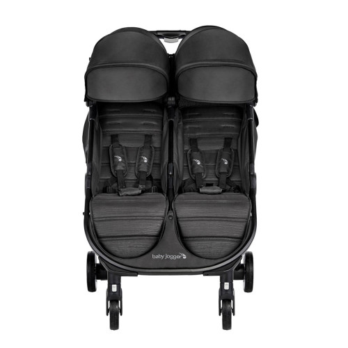 Baby Jogger City Tour 2 Double Stroller - Pitch Black - front