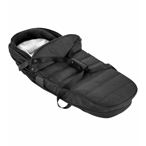 Baby Jogger City Tour 2 Double Carrycot -  Jet - folded