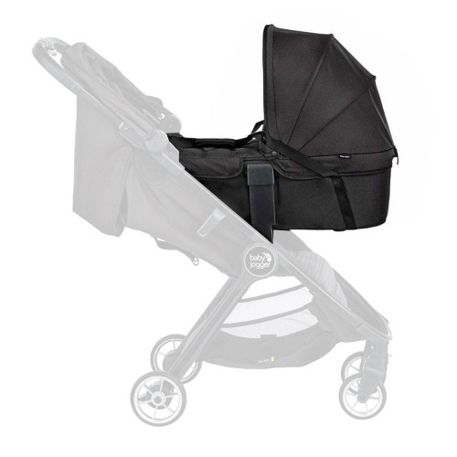 Baby Jogger City Tour 2 Carrycot - Jet - on - stroller