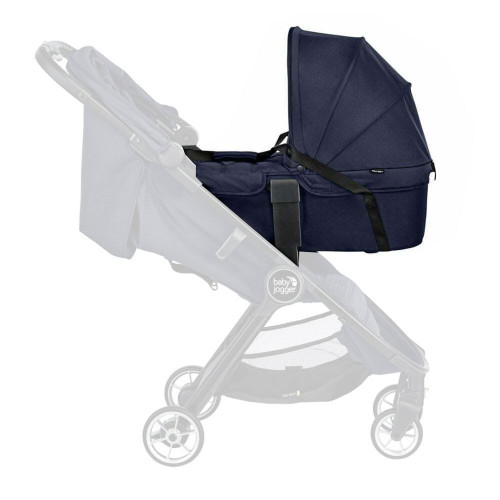 Baby Jogger City Tour 2 Carrycot - Seacrest - on stroller