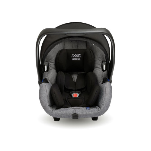 Axkid Modukid i-Size Infant Car Seat - Grey - front